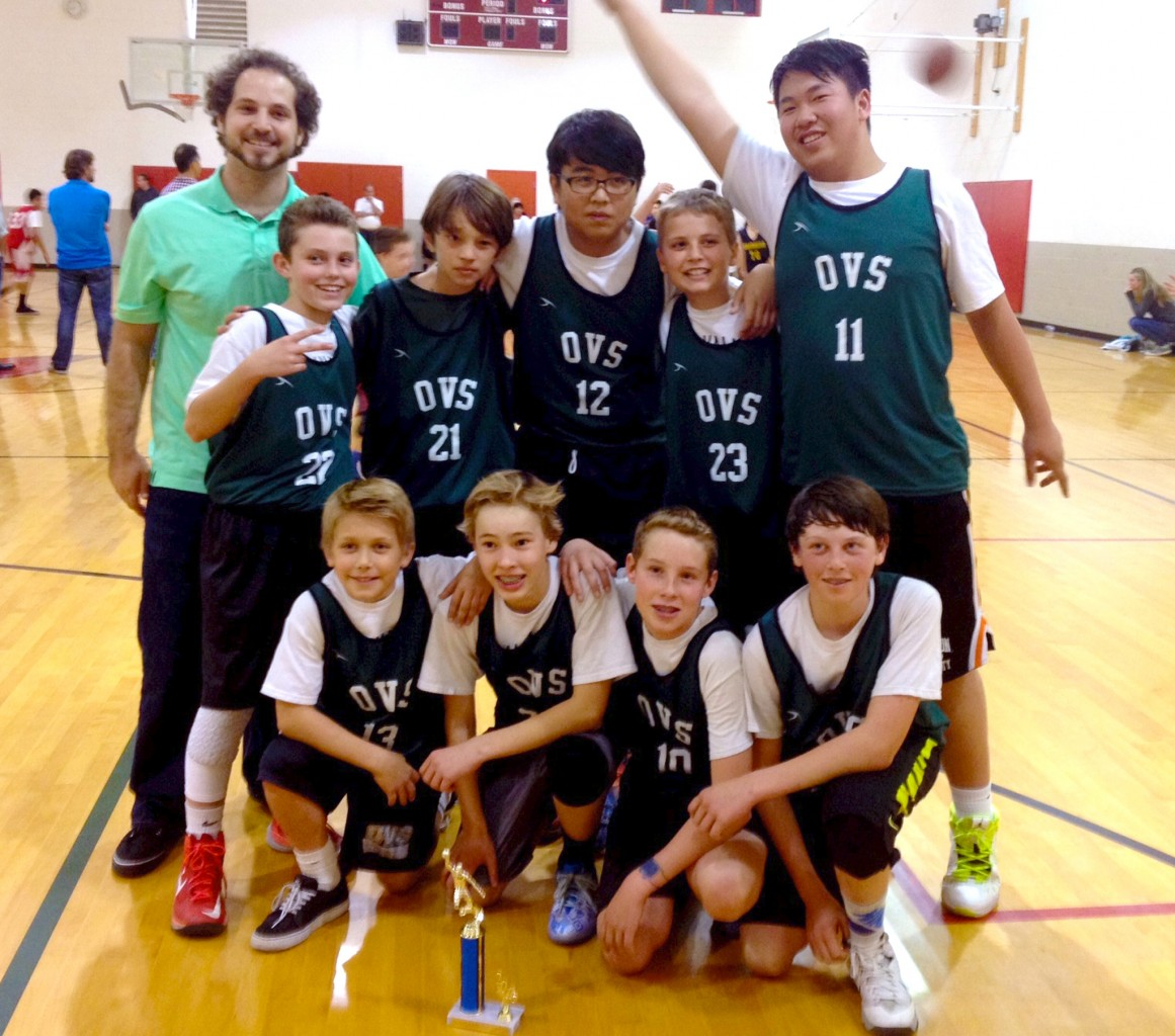 OVS, Lower Campus, Basket Ball, Middle School