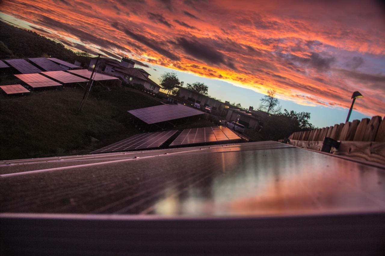solar sunset