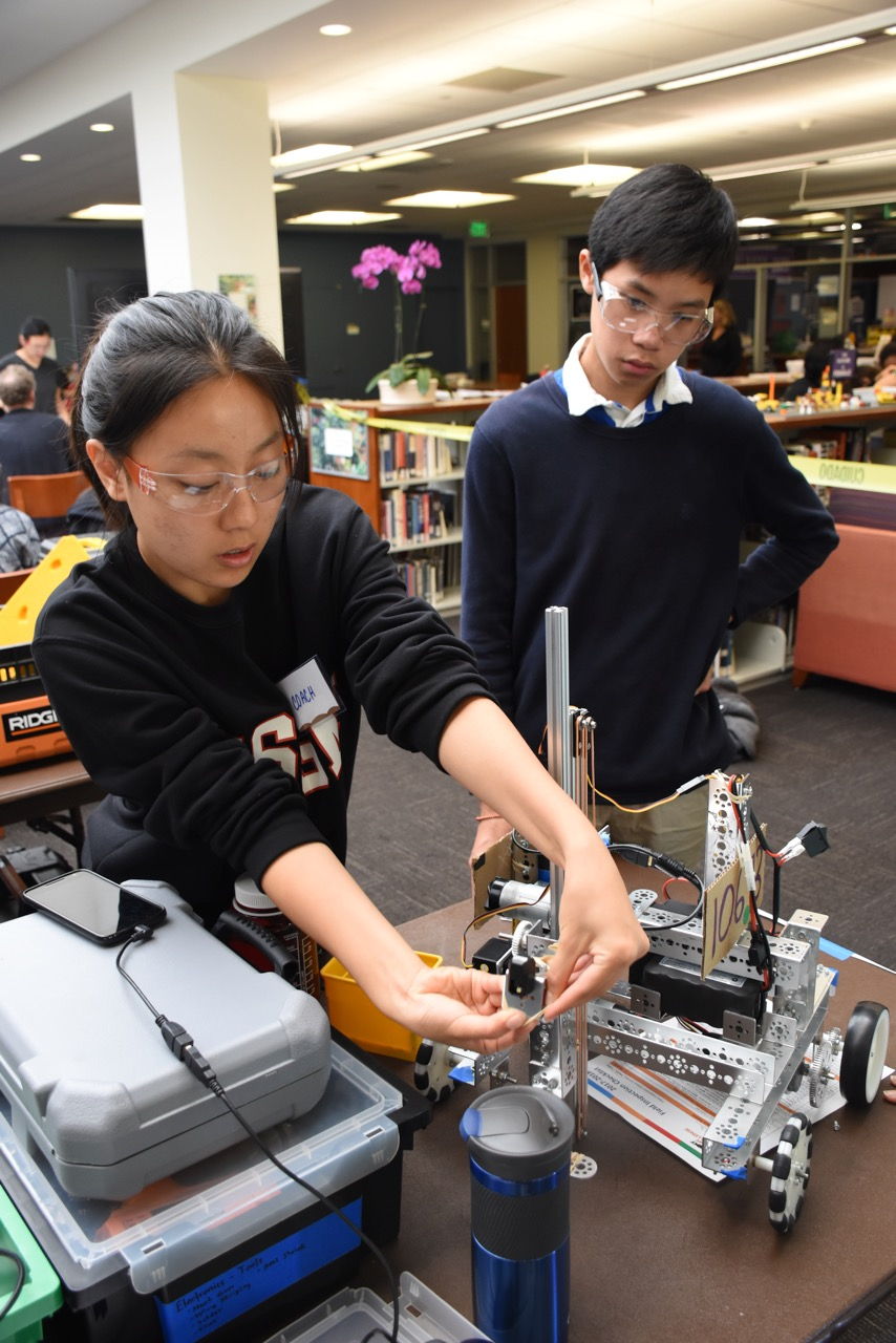 Competitive Robotics Season Opens Ojai Valley School Private