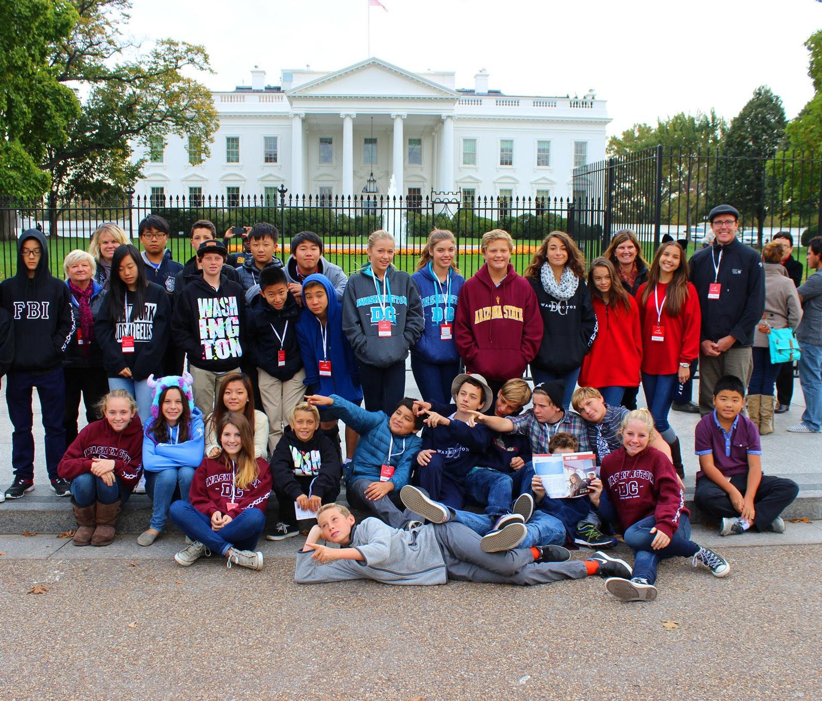 OVS Middle School DC Trip