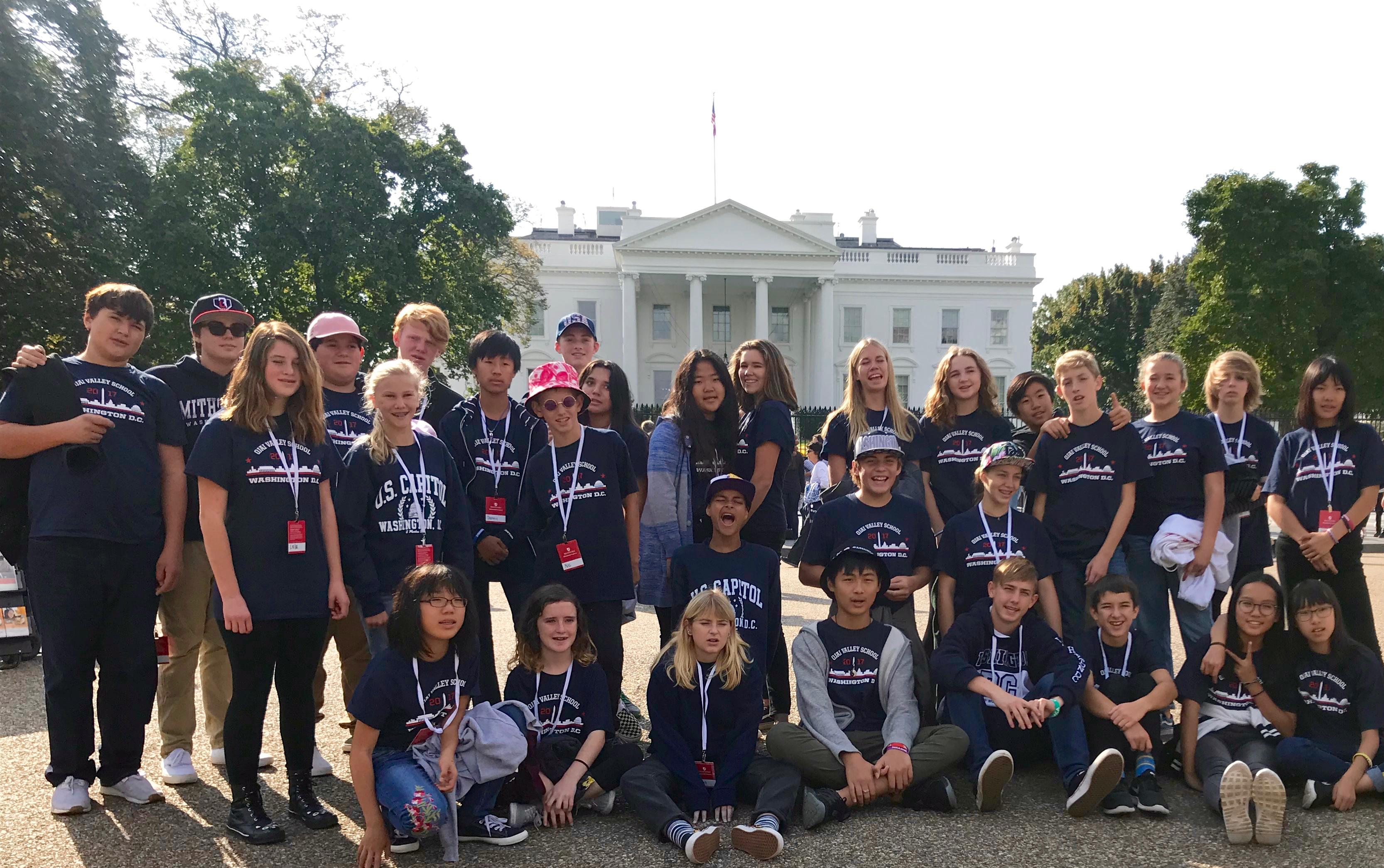 Students Explore History in Washington DC