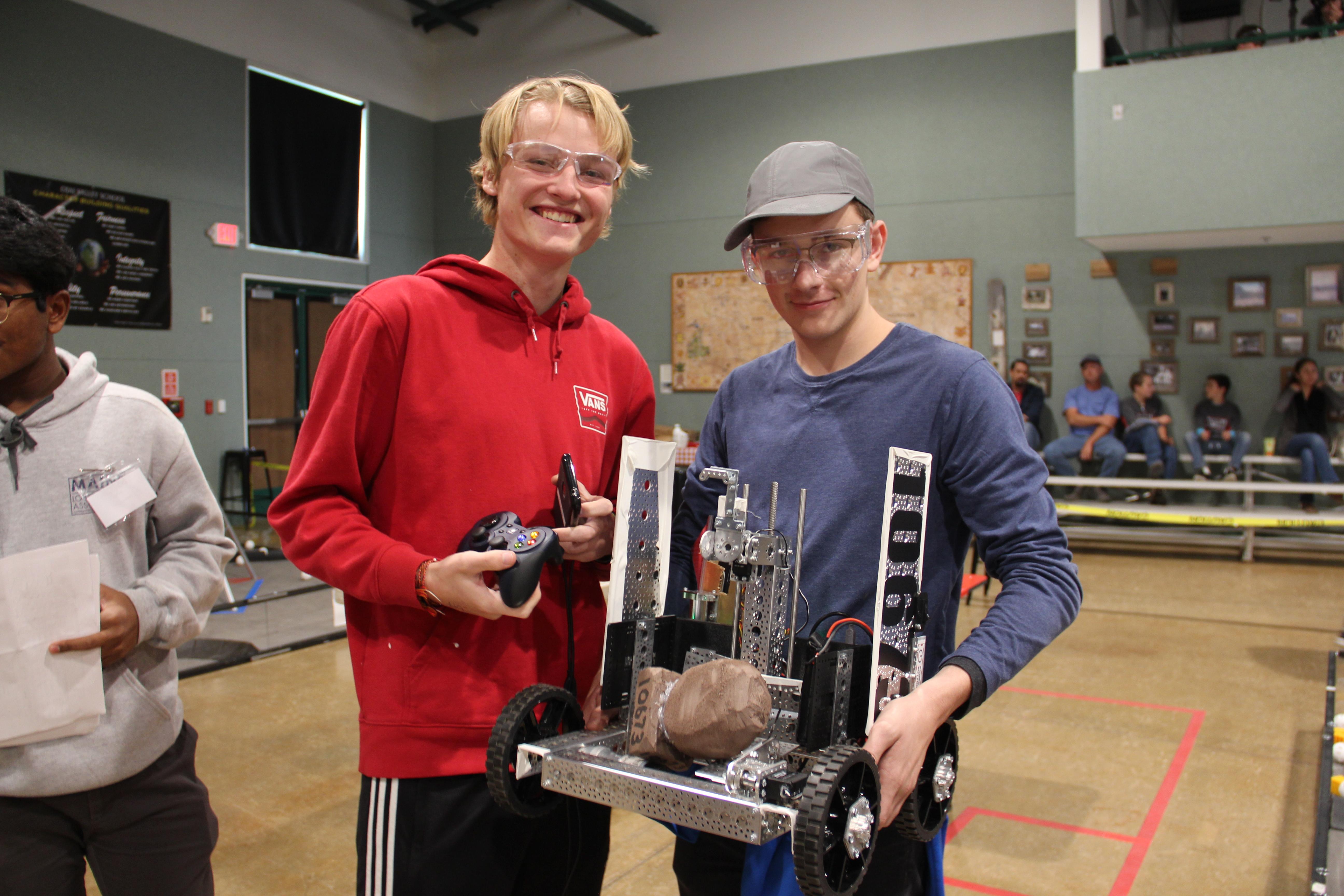 Ovs Robotics Wins Meet Ojai Valley School Private College Prep